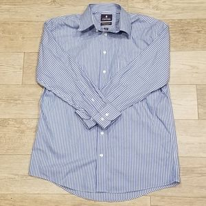 Men's Striped Dress Shirt